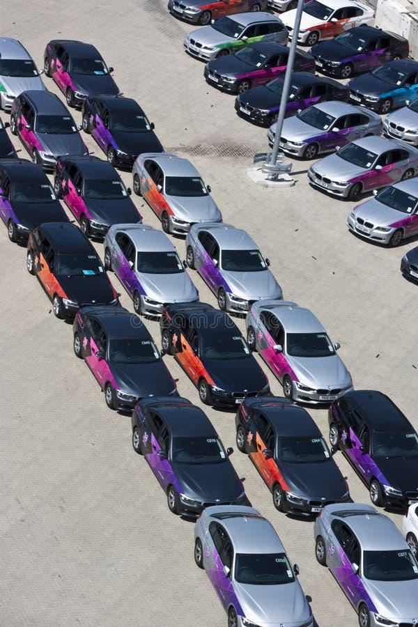 Officieel Olympisch BMW van Londen 2012 5 reeksen.