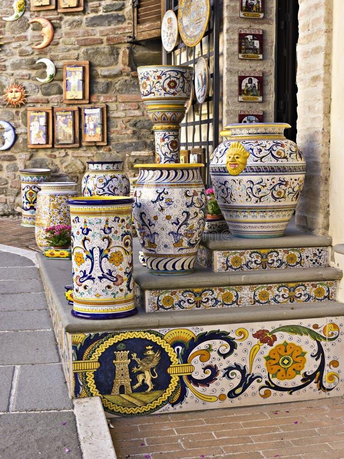 Officina ceramica fotografie stock