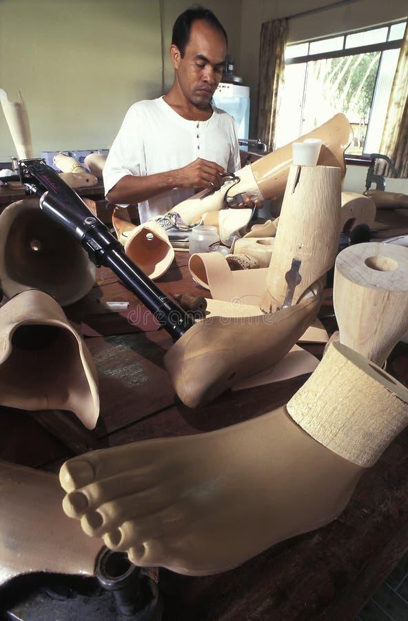 Officina ortopedica, Brasile immagine stock