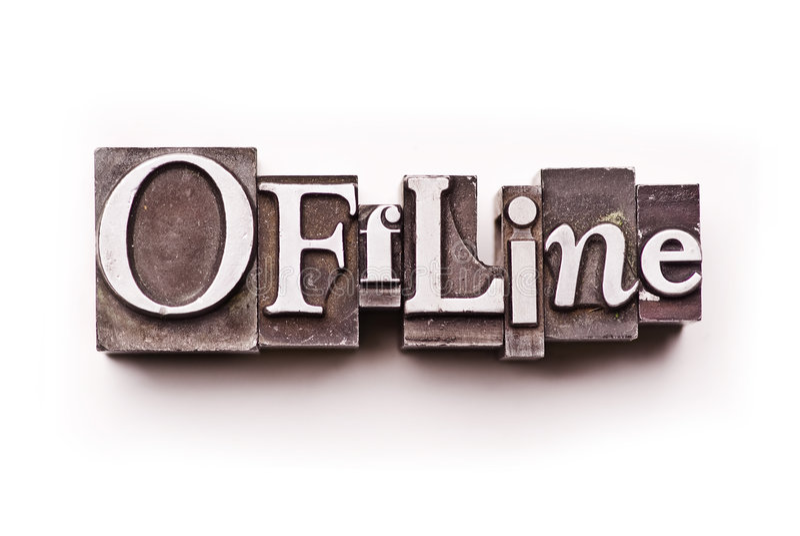offline arkivbilder