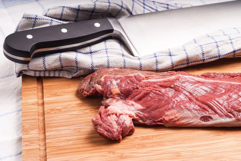 Offre accrochante, bifteck de cintre, onglet photographie stock libre de droits