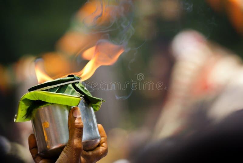Offre de la flamme images stock