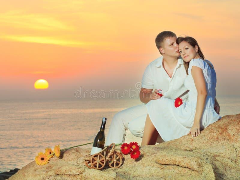 Offre de mariage photos stock