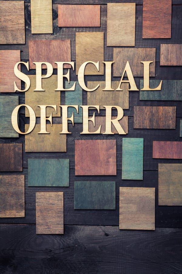 Offre spéciale images stock