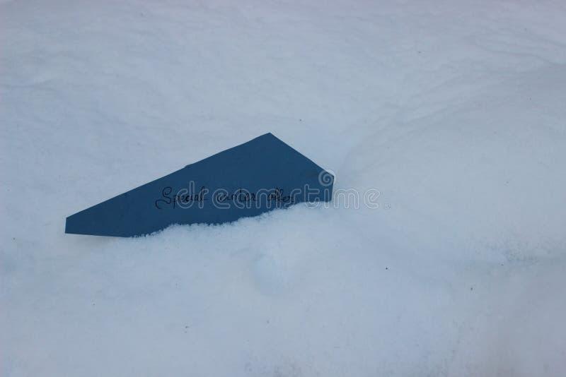 Offre spéciale d'hiver photographie stock