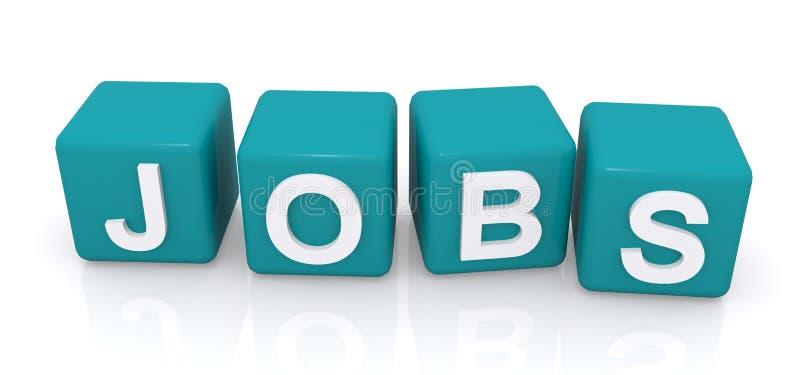 Offres d'emploi  illustration stock