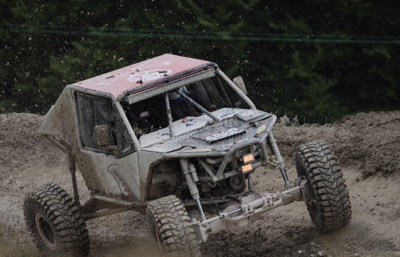 Offroad all terrain racing car stock photo