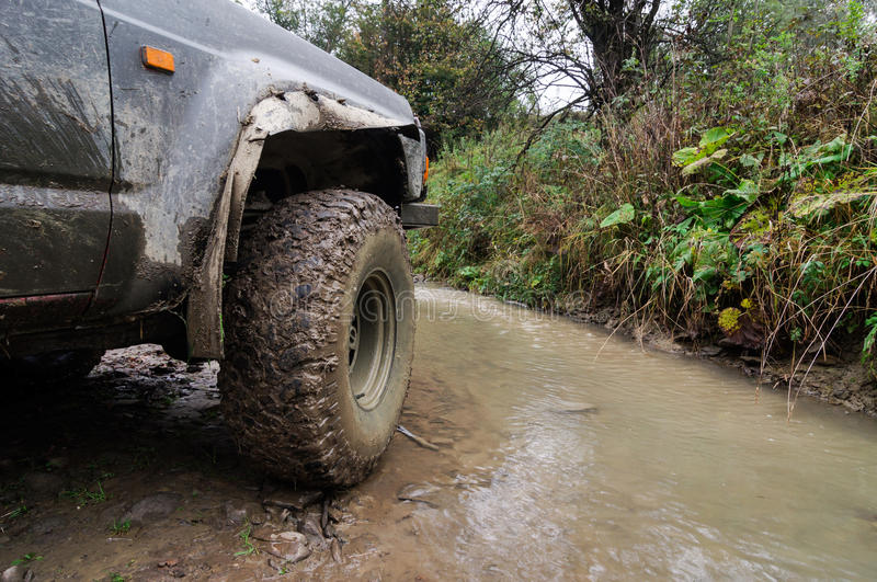 Offroad. An offroad all terrain vehicle royalty free stock images