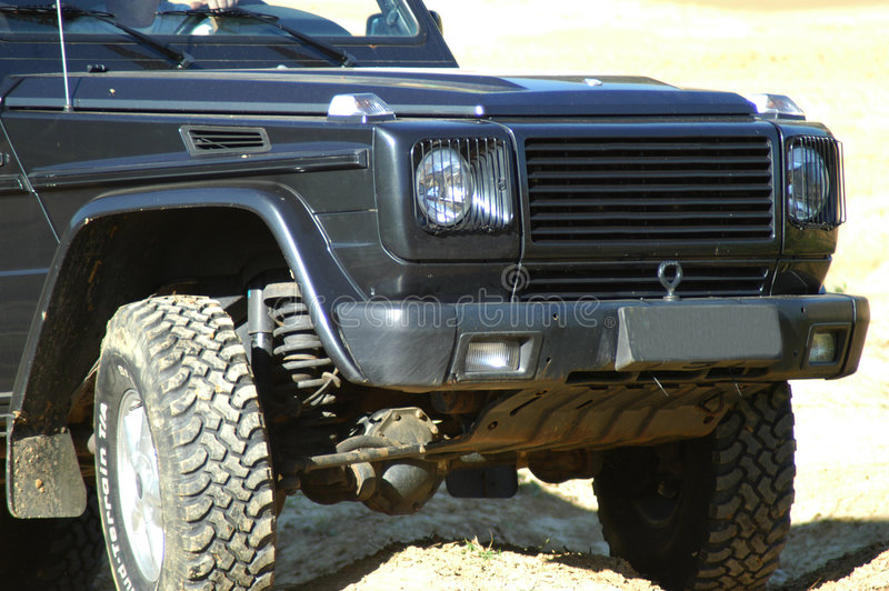 Offroad auto royalty-vrije stock afbeeldingen