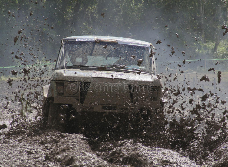 Download Offroad car driving stock photo. Image of competition - 18458352
