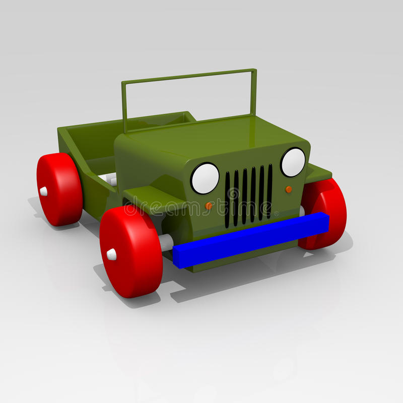 Download Offroad car toy stock illustration. Image of concept - 23543231