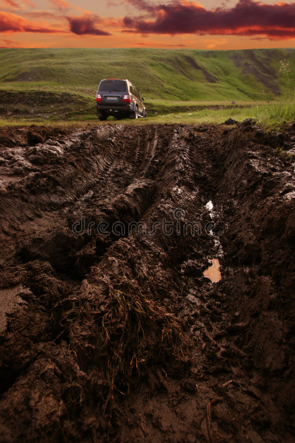 Download Offroad Driving In The Wilderness Stock Photography - Image: 1635922