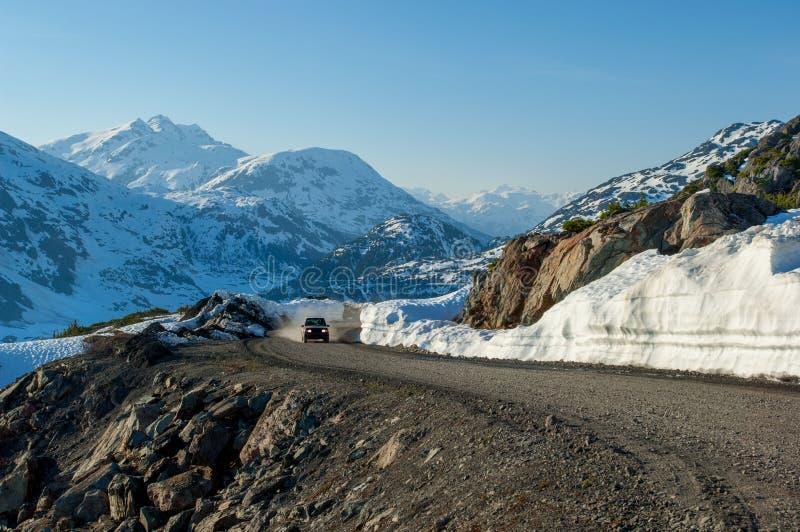 Offroad jeżdżenie na Alaska obrazy stock