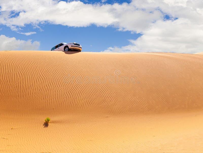 Offroad Jeep safari in Omani Rub al-Chali Desert royaltyfria foton