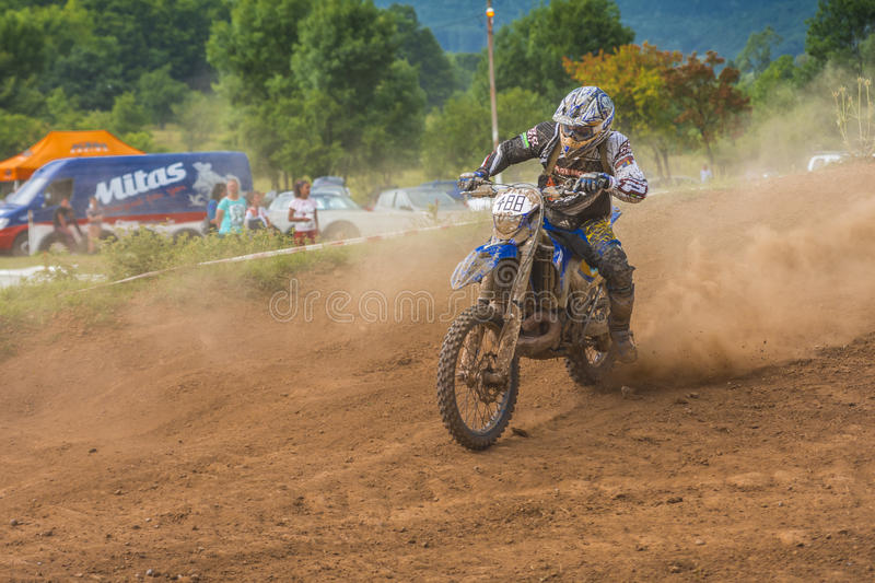 Offroad motorcycle royalty free stock image