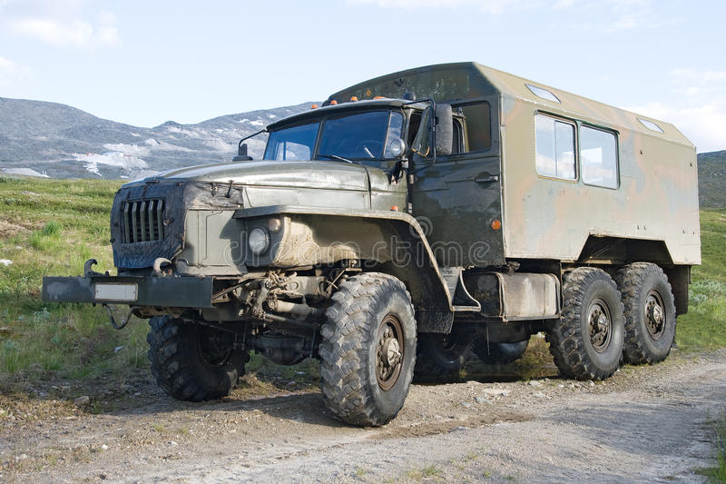 Offroad truck Ural royalty free stock photos