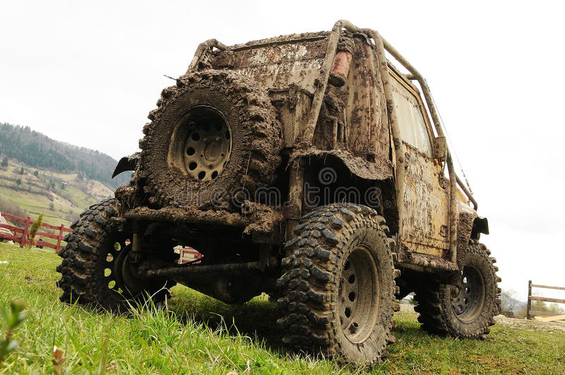 Offroad vehicle stock photos