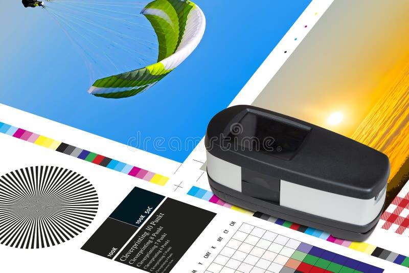 Download Offset Print Sheet Color Bar Measurement Stock Image - Image of offset, industrial: 93575197