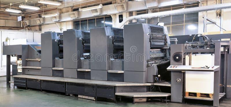 Offset printer press royalty free stock photos