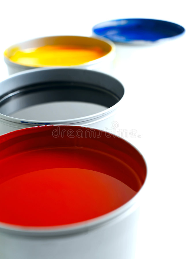 Free Offset Printing Ink Stock Photography - 4552392