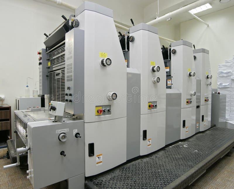 Offsetmaschine stockbilder