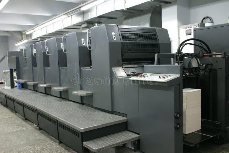 Offsetmaschine lizenzfreie stockfotografie