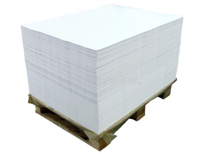 Offsetpapierblätter lizenzfreie stockbilder