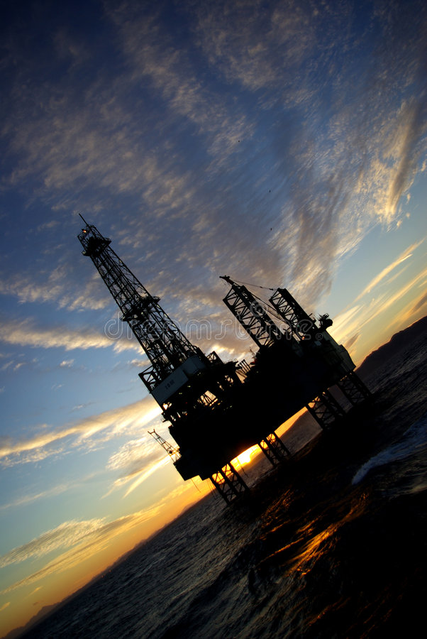 Download Offshore stock photo. Image of africa, clouds, petrol - 4254832