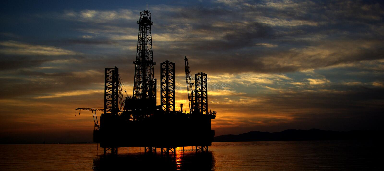 Offshore stock image