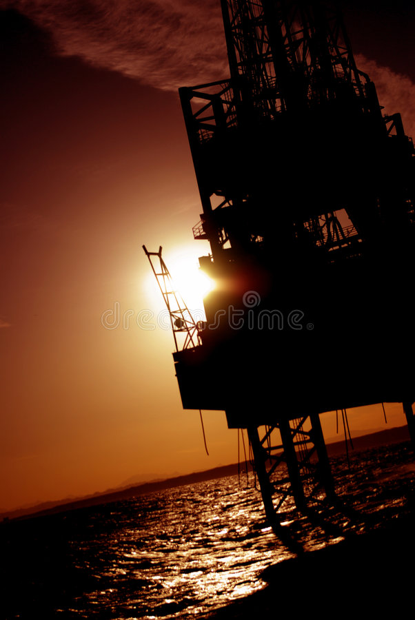 Offshore royalty free stock photo