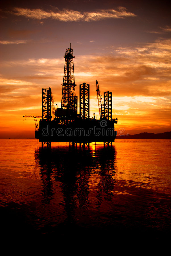 Offshore royalty free stock photography