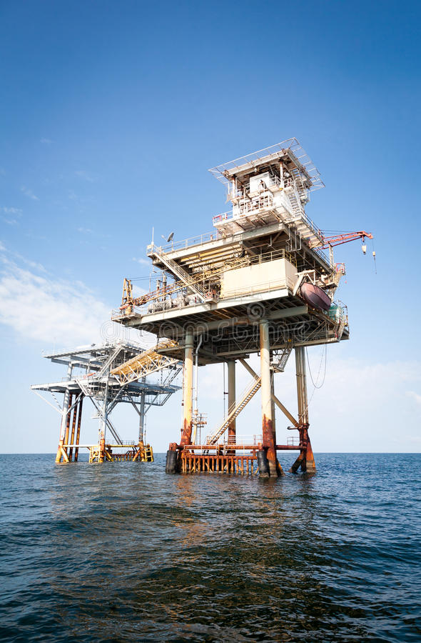 Download Offshore Drilling And Exploration Platform Stock Photo - Image: 24512874