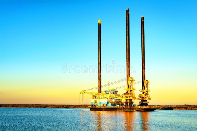 Offshore-Liftboat lizenzfreies stockfoto