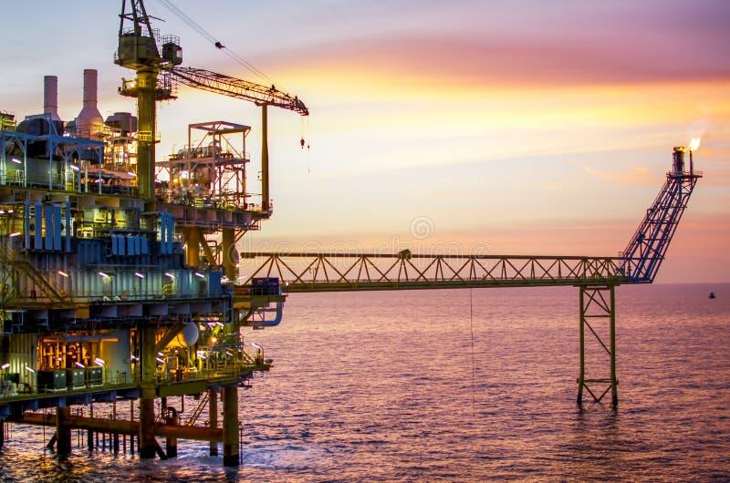 Download Offshore platform stock image. Image of natural, drilling - 25905157