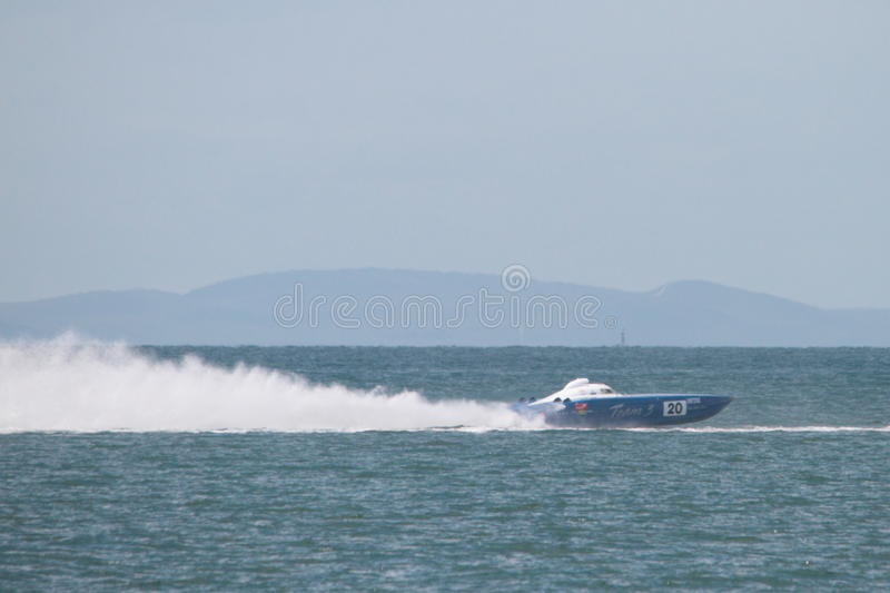 Offshore Superboat Championships royalty free stock photos