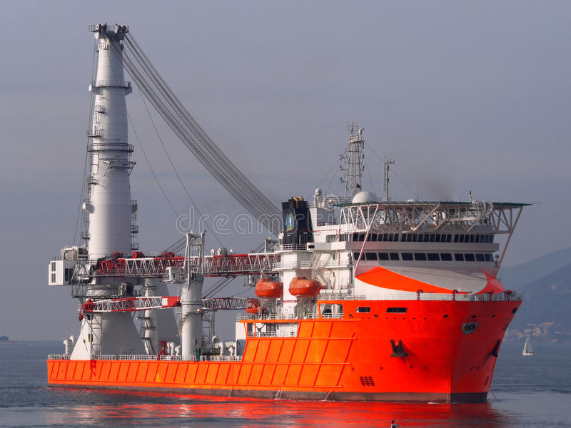 Download Offshore Vessel A1 Stock Image - Image: 12655191