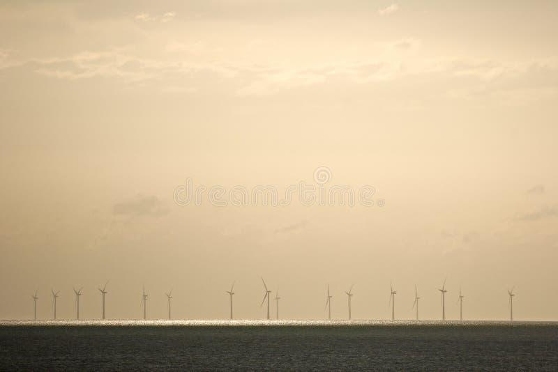 Offshore Windfarm Stock Photos