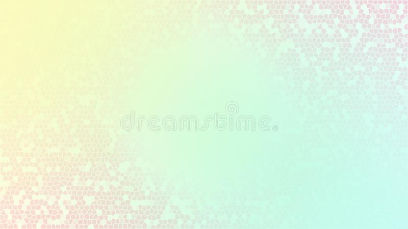 Offuschi l'estratto del fondo di colori dell'arcobaleno illustrazione vettoriale