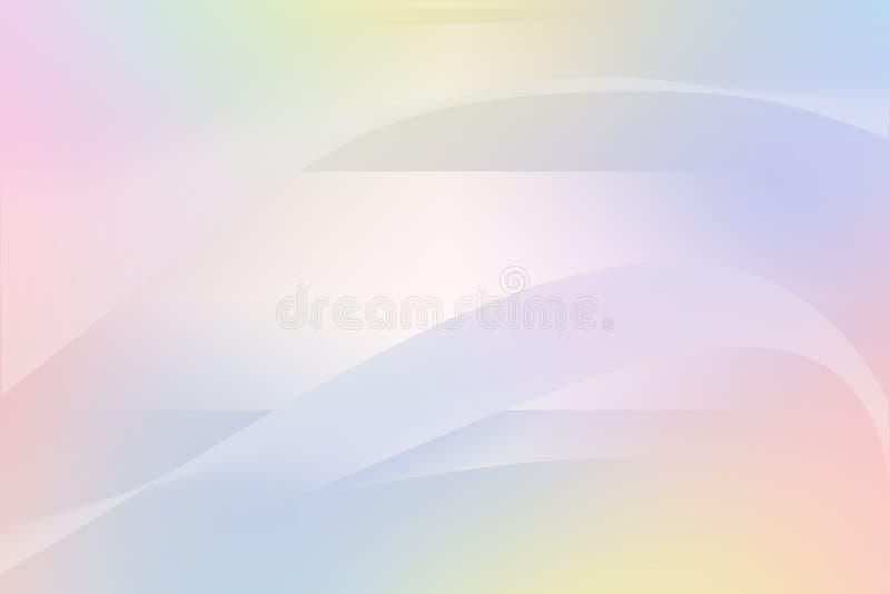 Offuschi l'estratto del fondo di colori dell'arcobaleno illustrazione di stock