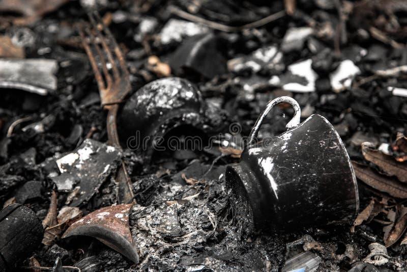 Ofiary ogień zdjęcie royalty free
