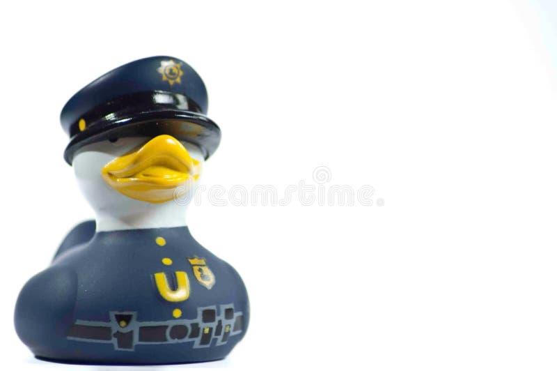 Oficer kaczka zdjęcie stock