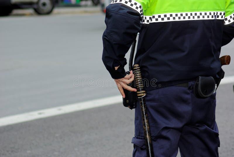 oficer policja zdjęcie stock