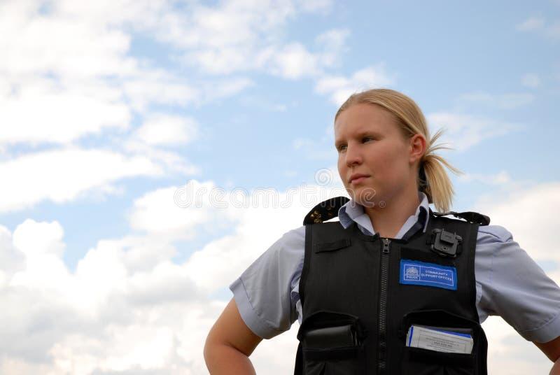 oficer policji wspólnoty fotografia stock