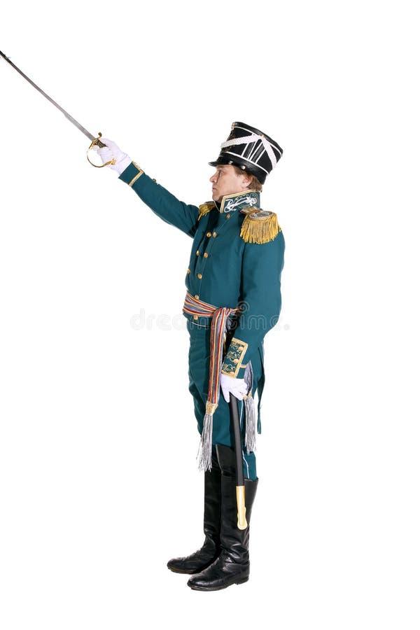 Oficer strażnik morska załoga fotografia royalty free