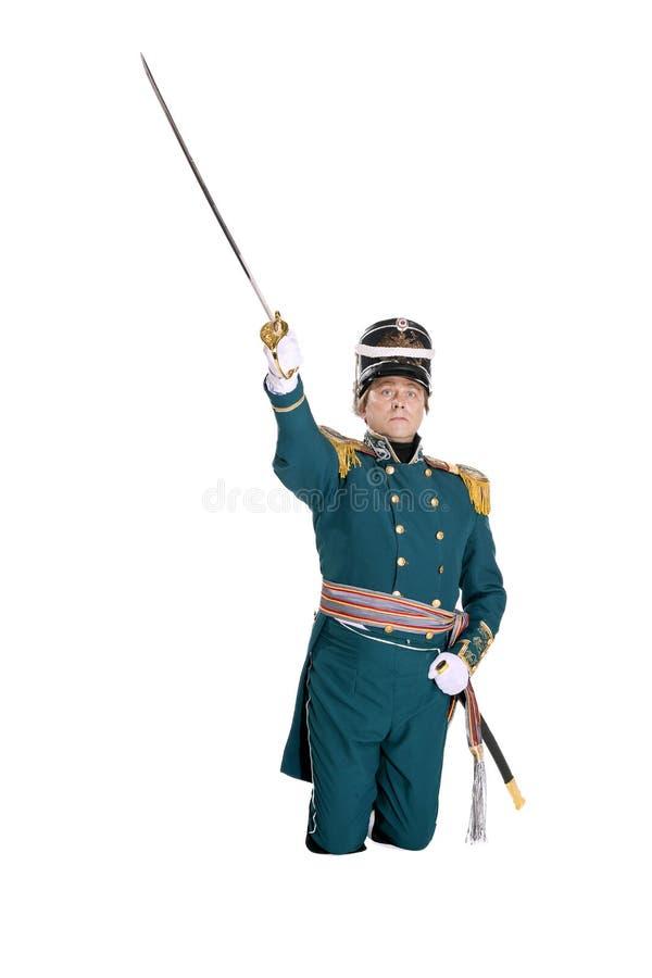 Oficer strażnik morska załoga zdjęcie stock