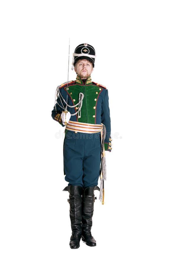 Oficer strażnika Jaeger pułk zdjęcia stock