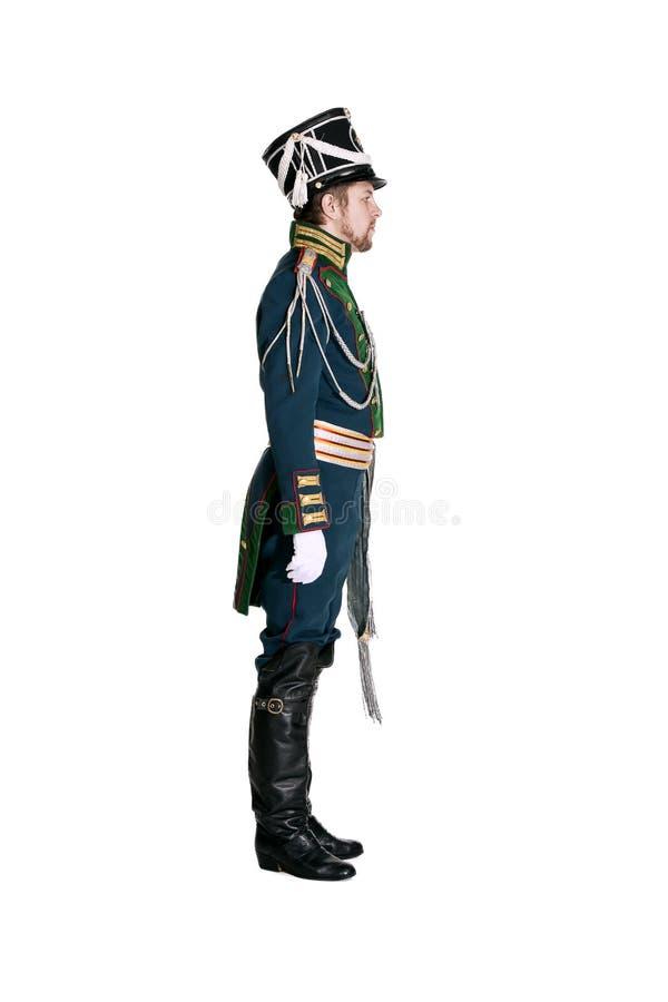 Oficer strażnika Jaeger pułk obraz stock
