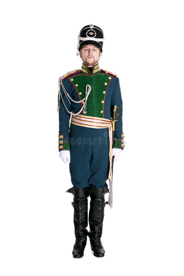 Oficer strażnika Jaeger pułk obrazy stock