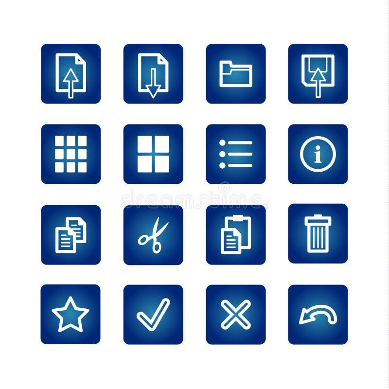 oficerze komputerowych wyznaczonym przez standard ikony