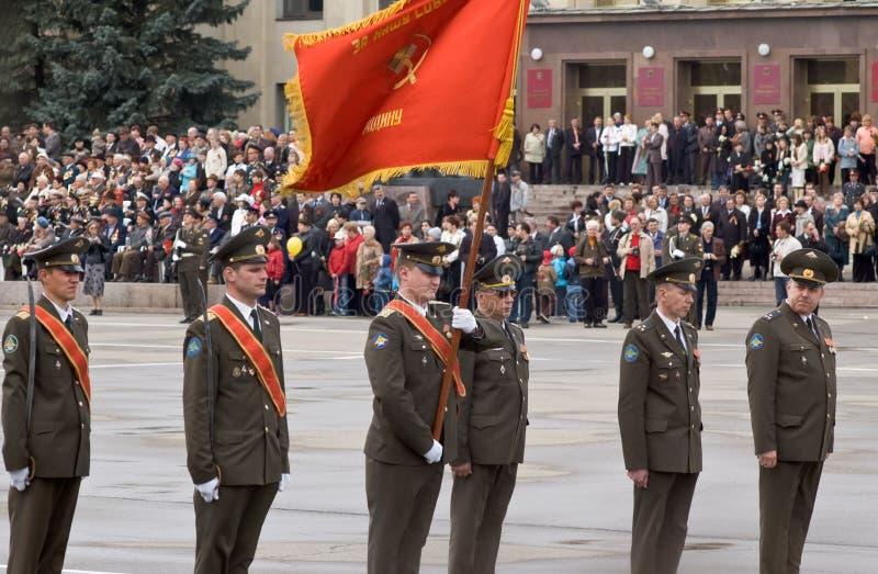 Oficiais do russo foto de stock